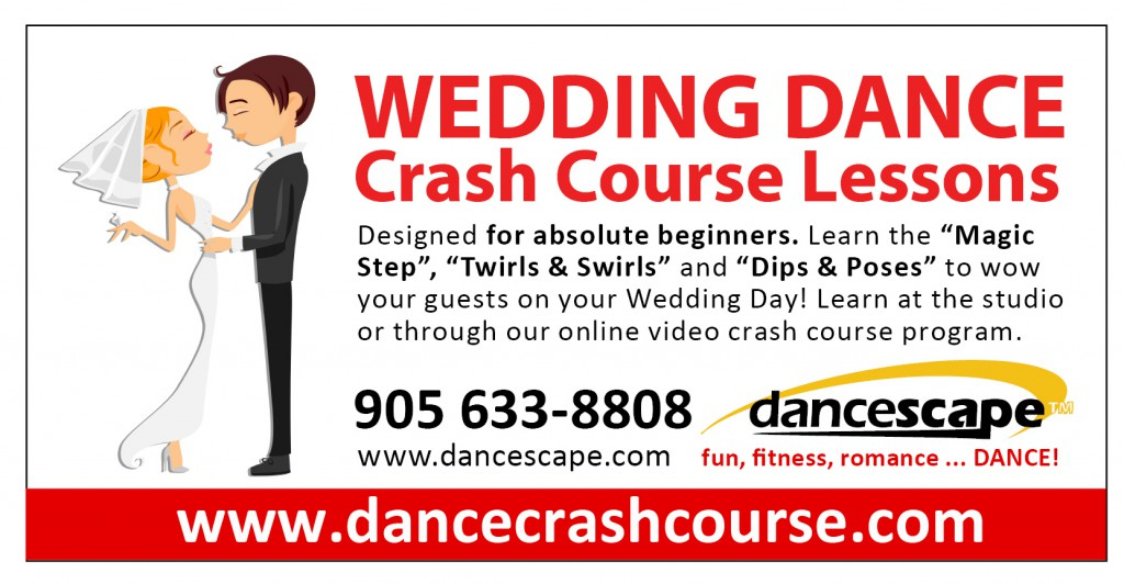 Wedding Dance Crash Course - danceScape