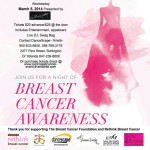 Breast Cancer Fundraiser Soiree