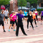 """Fit in the Core"" - FREE Outdoor danceTONE Fitness & danceFLOW QiGong/Taichi Class July 14th, 10 a.m."