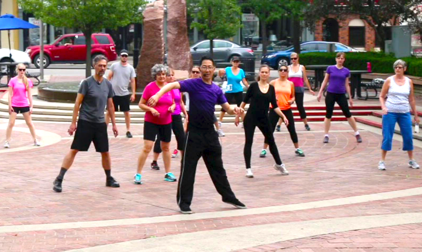"FREE Outdoor danceTONE Fitness with danceFLOW QiGong Class at ""Fit in the Core"""