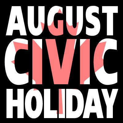 Civic Holiday – Office/Studio Closed