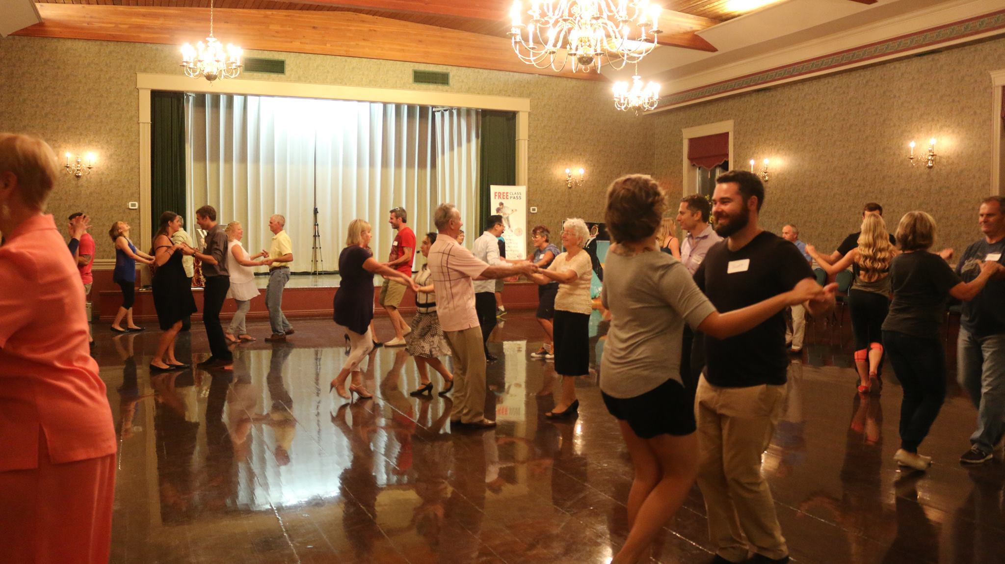 OPEN HOUSE(S) – Join us in downtown Burlington for FREE Ballroom & Salsa Lessons!