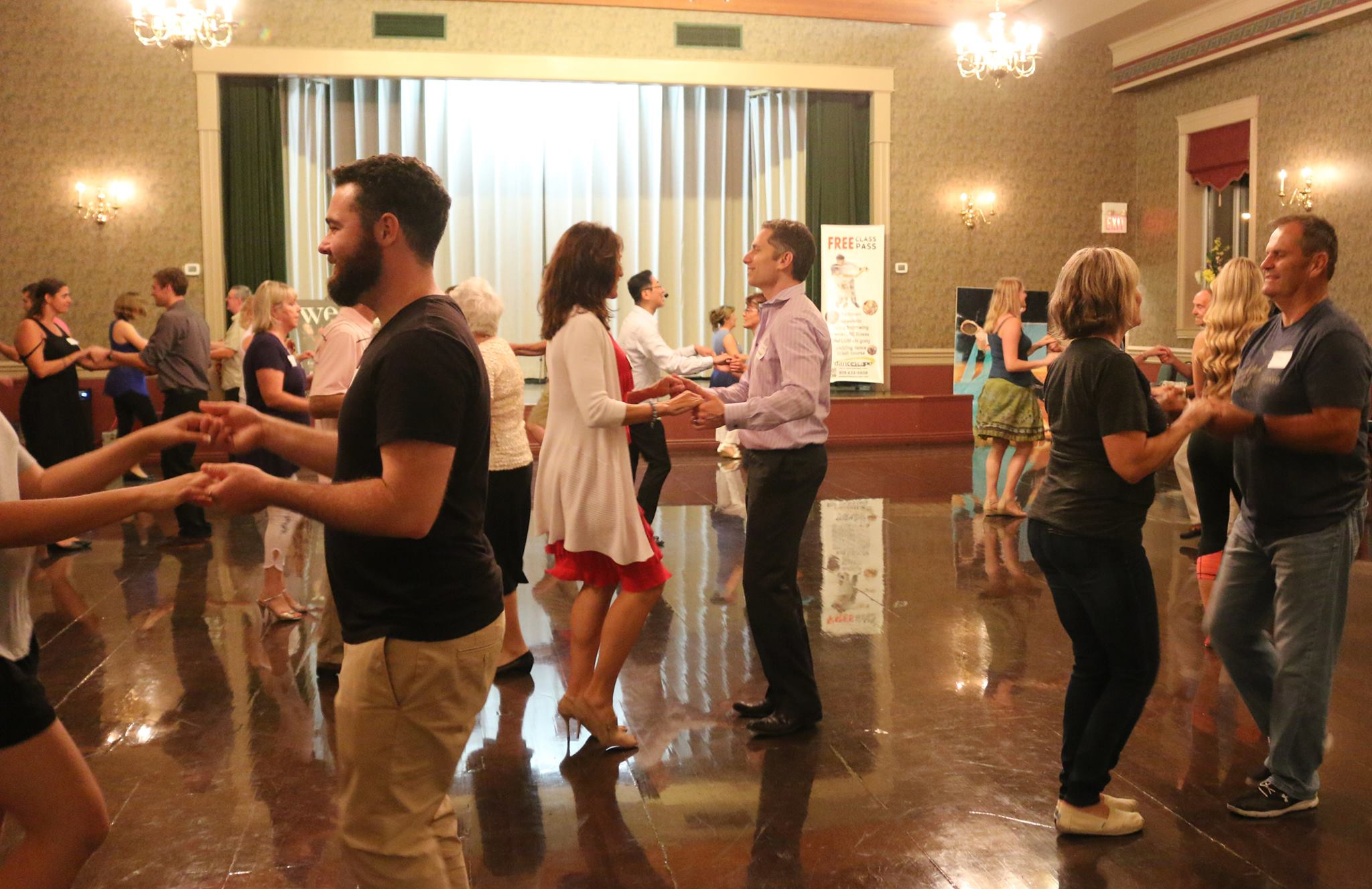 Start of SPRING Group Classes in Ballroom, Salsa/Latin, West Coast Swing, danceTONE & QiGong