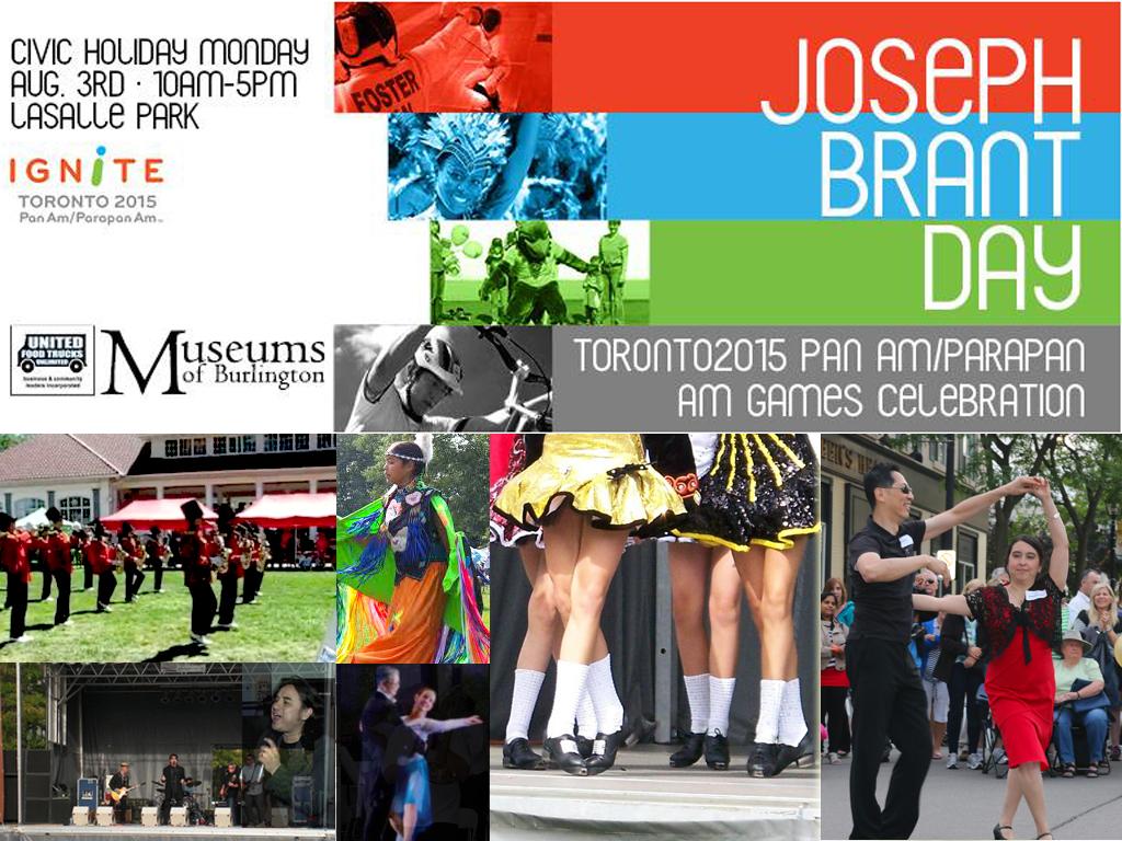 """Joseph Brant Day – PanAm/Parapan Games"" Festival"