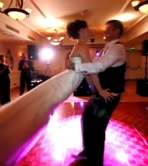 They Learned A Freestyle Wedding Dance Choreographed By HannaH And Received Wonderful