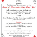 Queen of Hearts & Mad Hatter Ball – Hamilton Hunt & Equestrian Club Fundraiser