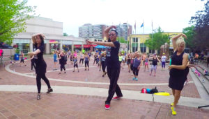 Fit-in-the-Core - FREE danceFLOW qigong/taichi & danceTONE Outdoor Fitness Classes @ Civic Square at Burlington City Hall