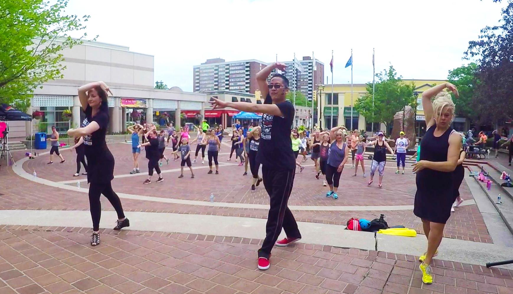 FREE danceTONE Fitness Online Video Workout – danceScape