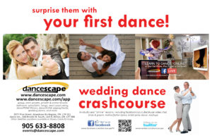 WEDDING OPEN HOUSE - Wedding Dance Crash Course, Music & More! @ danceScape