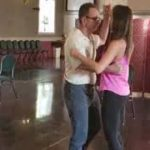 "Wedding Dance Lessons @danceScape with dad John & daughter Sarah - Foxtrot/Rumba to ""In my Life"""