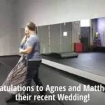 "Wedding Dance Lessons @dancescape - Agnes & Matthew Waltz to ""I Have Nothing"""