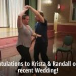 "Wedding Dance Lessons @danceScape - Krista & Randall Waltz to ""A Thousand Years"""
